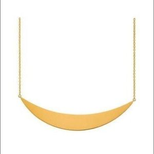 Gorjana Jewelry - 🆕 Gorjana Crescent Plate Necklace